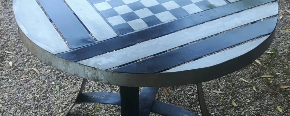 table d'échec extérieur